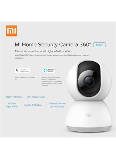Xiaomi Xiaomi Mijia Smart Home 360 Derece Dönebilen HD 1080p Kızılötesi Gece Görüşlü IP Kamera Beyaz